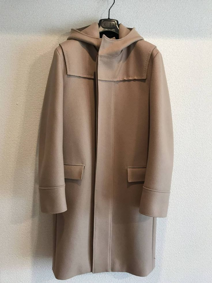 【極美品】ディオールオム 圧縮ウールコート size46  エディスリマン期_画像1