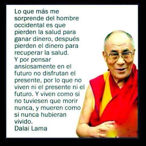Para reflexionar palabras sabias Dalai Lama   MAS QUE PALABRAS ...