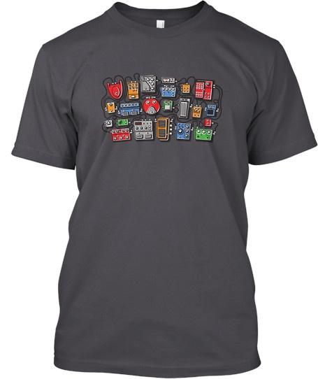 """GuitarGeek """"Signal Flow"""" T-Shirt"""