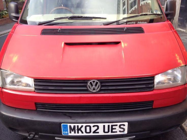 Custom intercooler bonnet air feed? - VW T4 Forum - VW T5 Forum