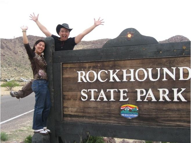 Rock Hound State Park, New Mexico