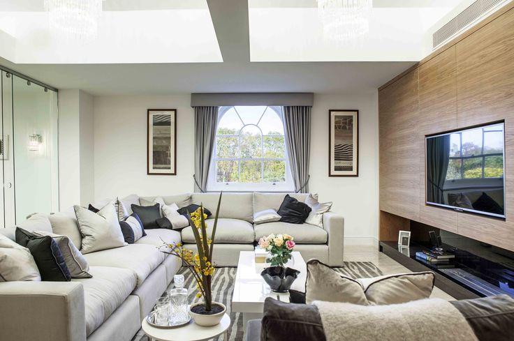 Luxury Living Room Interior | JHR Interiors