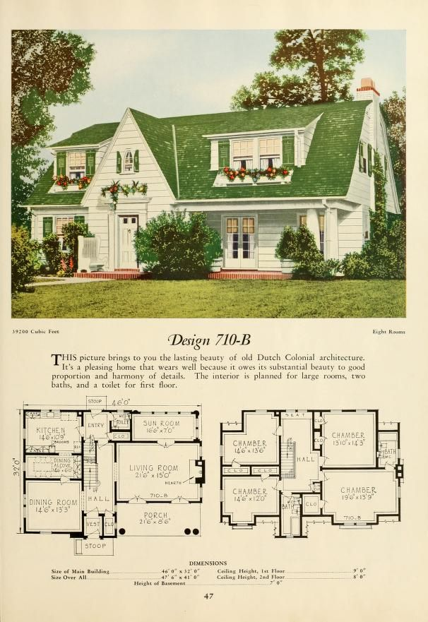25 best ideas about vintage house plans on pinterest for New house plans that look old
