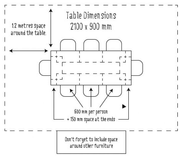 Bench Dining Table Dimensions: 17 Best Dining Table Images On Pinterest