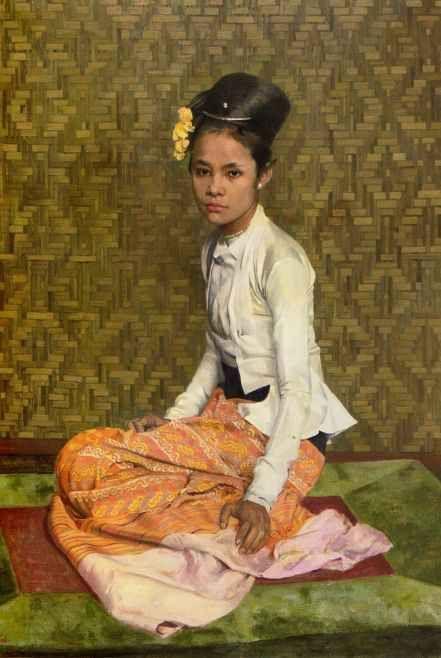British Paintings: (Sir) Gerald Festus Kelly - Sao Ohn Nyunt