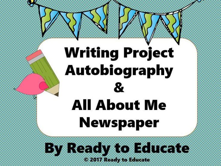 a creative writing on reading autobiography