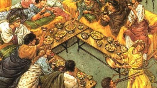 """La #dietamediterranea ha 2000 anni! La scoperta viene da un gruppo di ricercatori dell'Università di Cincinnati che per un decennio ha scavato negli scarichi e nelle latrine di ristoranti e botteghe alimentari della città vesuviana. I ricercatori hanno scoperto anche qualche """"stranezza"""" alimentare. #mangiarebuono"""