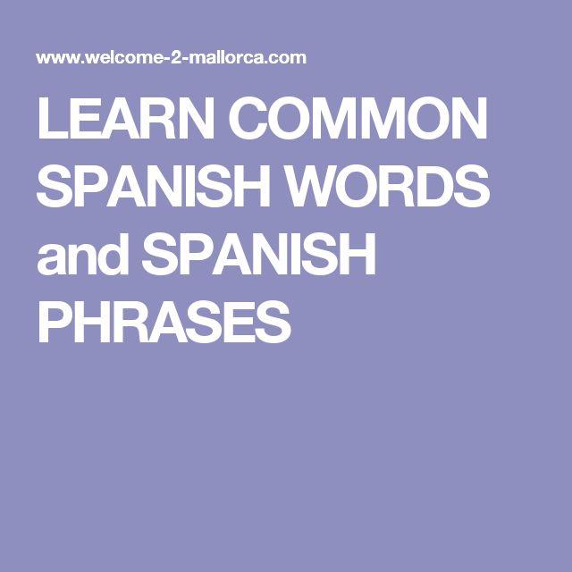 common spanish phrases travel pdf