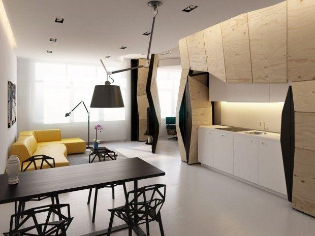 Transformer Apartment, Vlad Mishin