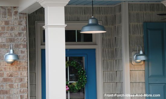 Hang Porch Lights for Maximum Appeal