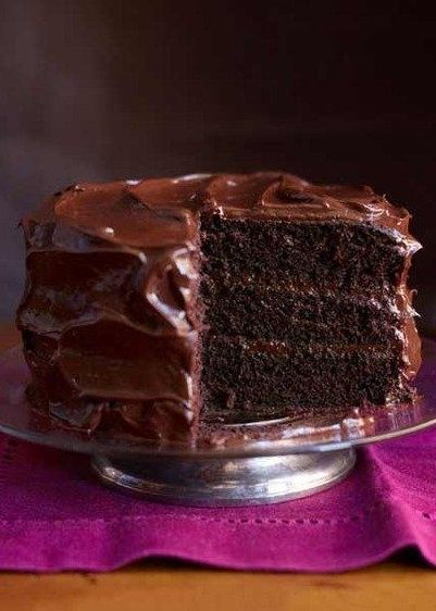 Here's for you the deliciously awesome The Best Chocolate Cake You'll Ever Have. So just go and grab this recipe now!