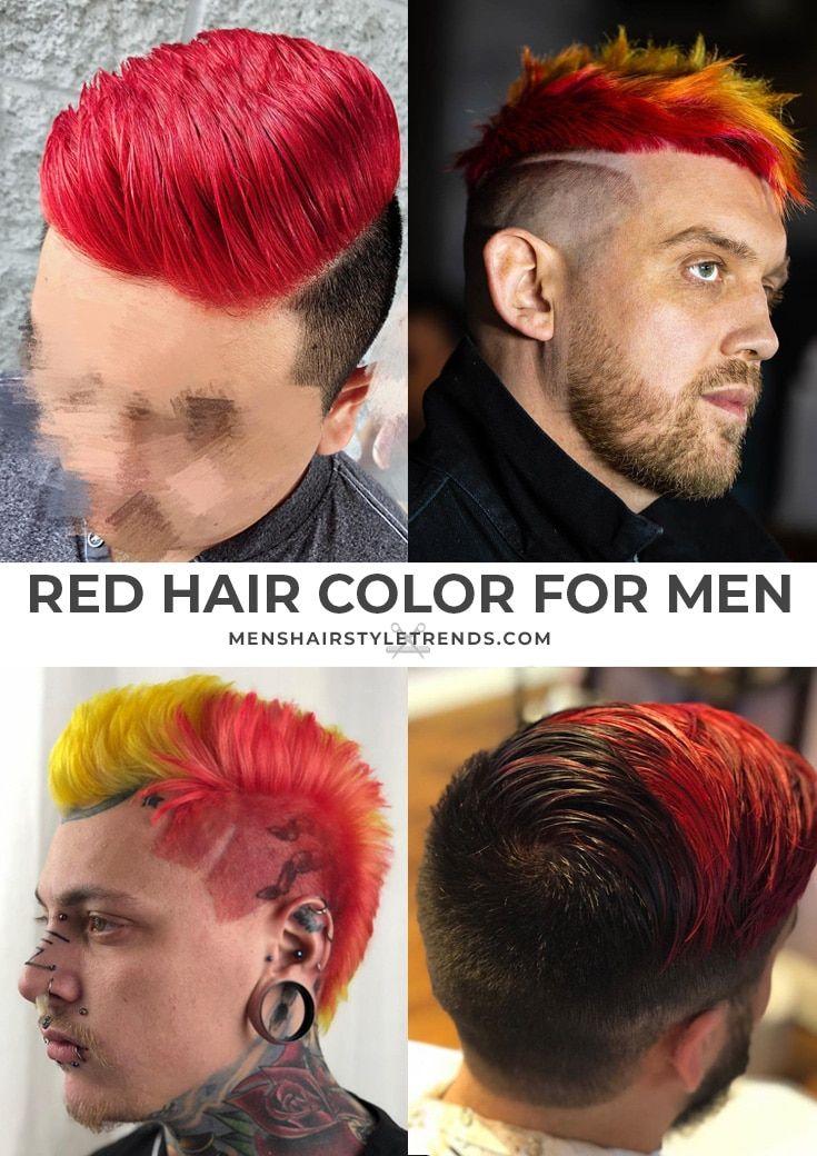 Hair Color Options For Men Men Hair Color Red Hair Men Dyed Hair Men