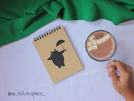 Studio Ghibli Theme Notebook  Totoro With by OtterspaceStudio