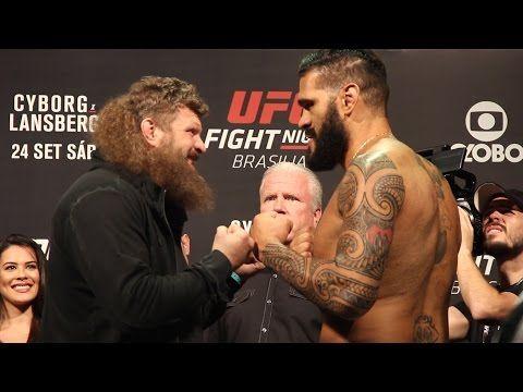 MMA UFN 95 Weigh-Ins: Roy Nelson vs. Bigfoot Silva Staredown