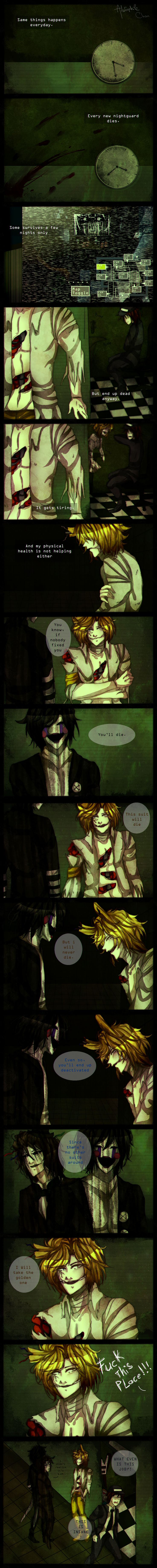 .: Lost [FNaF AU Comic] Page 8 :. by Ailurophile-Chan on DeviantArt