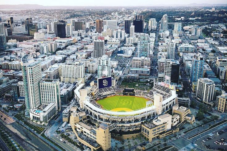 San Diego has set its sights on becoming 100% powered by renewable energy before 2035 and theyre starting with their baseball stadium. Petco Park home of the SanDiego Padres will soon become one of the greenest parks in the MLB. With plans to install a 336520 watt solar power system this stadium will become Major League Baseballs biggest solar powered facility. #solarenergy  - Padres