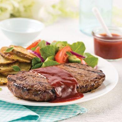 Steak de boeuf, sauce barbecue au rhum - Recettes - Cuisine et nutrition - Pratico Pratique