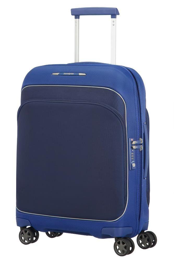 Samsonite Fuze Spinner 55 20 2 4 Kg Bagage Cabine 55 Cm 35 Liters Bleu Cobalt Blue Bagage Sac Valise