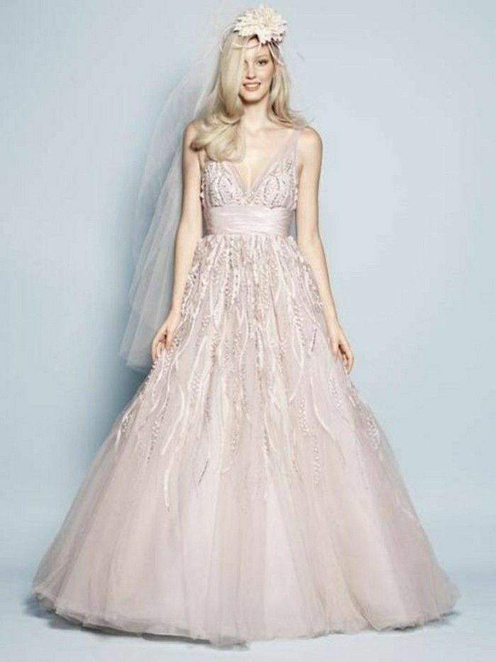 Hochzeitskleid Altrosa Valentins Day Brautkleid Hochzeitskleid Braut