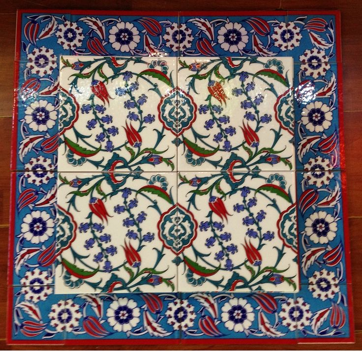 Turkish Ceramic Wall Tiles. How can one just pick one design. ?