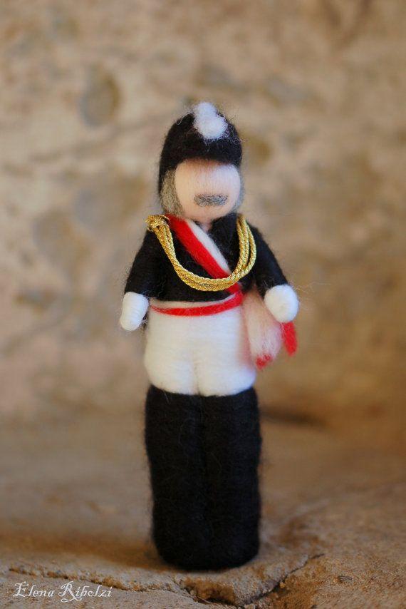 Elegante generale del carnevale
