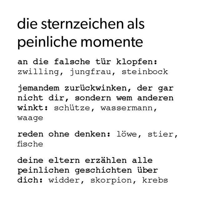 waage #löwe #witzig #fremde #winken #pein #haha #skorpion #fische #geschichten #steinbock #ha #erzählen #jungfrau #schütze #eltern #sternzeichen #zwilling #freunde #widder #peinlich #wassermann #krebs #lustig #hahaha #horoskop #stier
