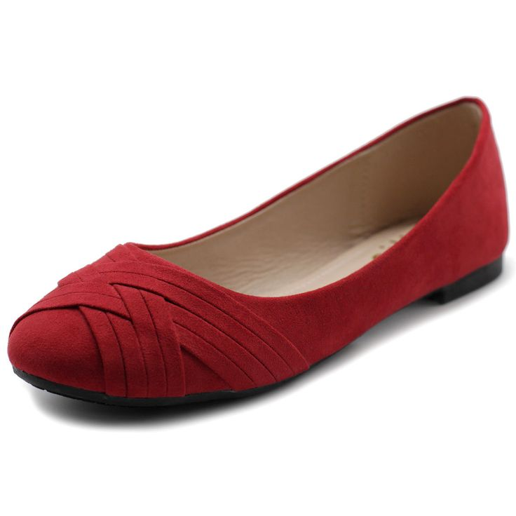 Ollio Womens Ballet Shoes Cute Casual Comfort Flat