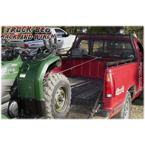 Truck Bed Rack And Winch This Headache Rack With Side