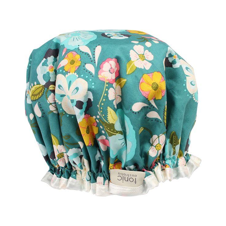 Jade Garden Shower Cap #showercap #cap #shower