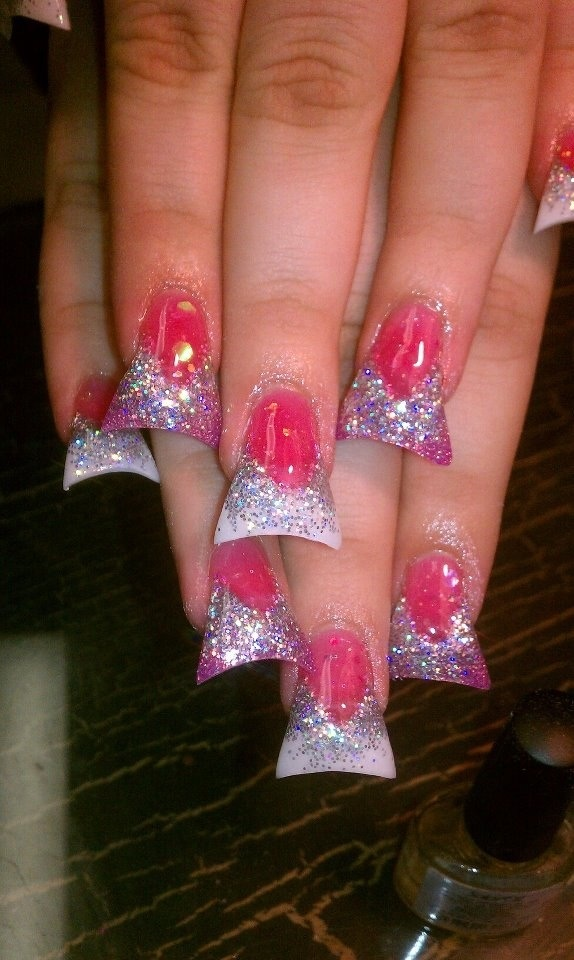 Duck Bill Nails . Raw Af ' seriously contemplating this lol