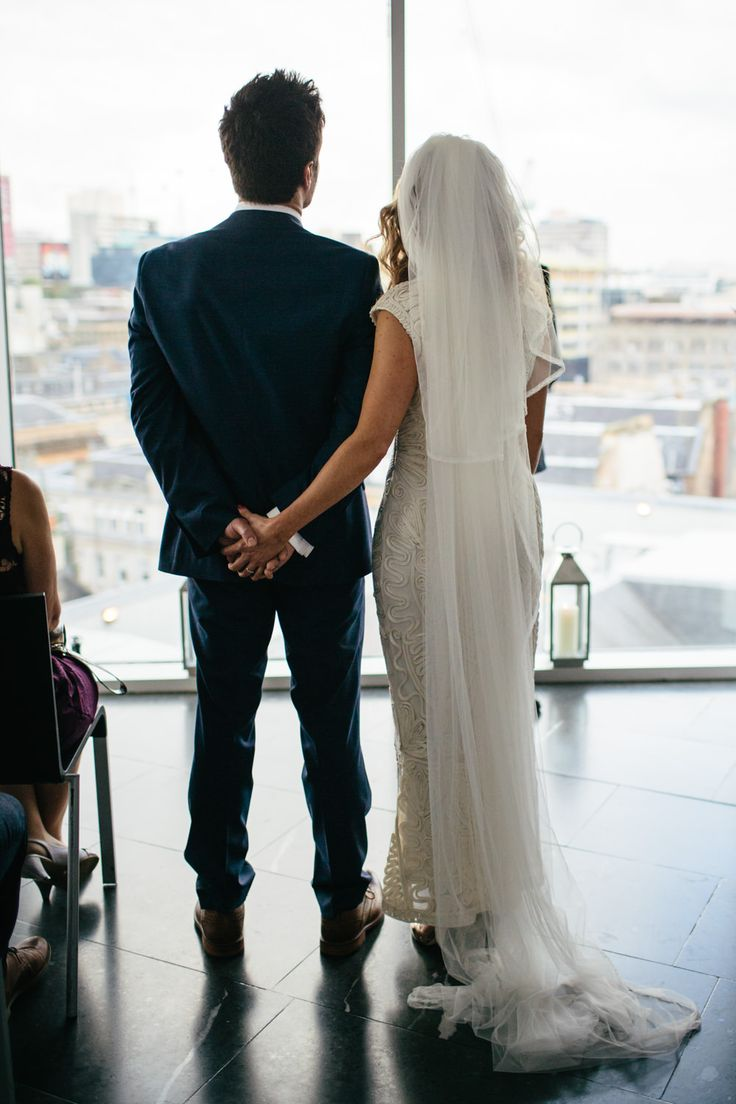modern secular wedding ceremony script%0A Image by Caro Weiss  Intimate Humanist Wedding Ceremony At The Lighthouse  Glasgow With Bride In