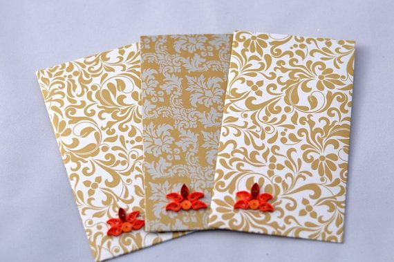 Giftcard Holder Money Holder Diwali Gift Card by PaperSimplicity