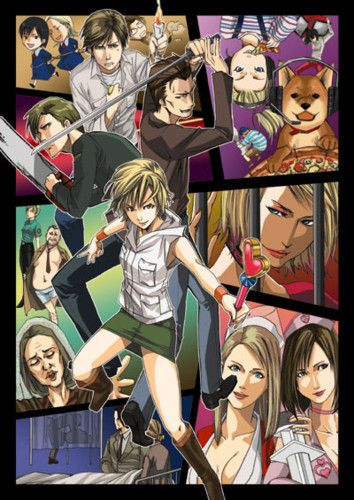 Silent Hill anime version