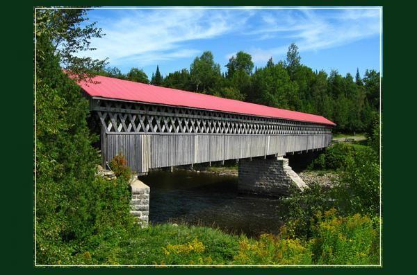Pont couvert de Gould, Canton de l'Est