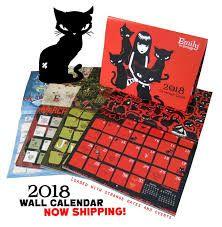 Emily the Strange calendar 2018 😍