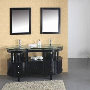 1000 Images About Black Bath Vanities On Pinterest