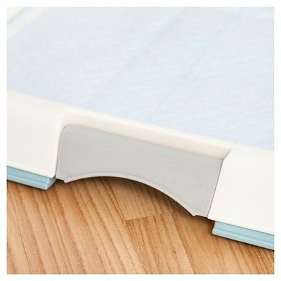 Iris Training Pad Tray, Blue (Extra Large), Grey