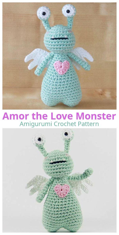 Rainbow Loom 3D Mike Wasowski (Monsters Inc) Figure/Doll Amigurumi ... | 1186x600