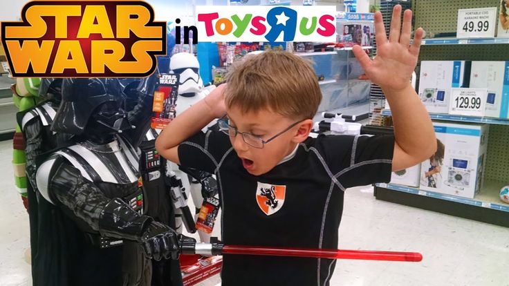 SHOP WITH US! NEW STAR WARS TOYS and MINECRAFT LEGO for birthday.