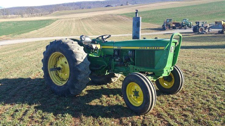 1971 John Deere 1020 Ag Farm Tractor 3 Cylinder Diesel Engine 2x4 Machine 60 HP