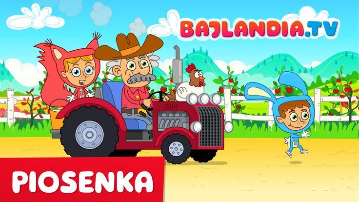 Piosenki dla dzieci po polsku - Pan MacDonald farmę miał