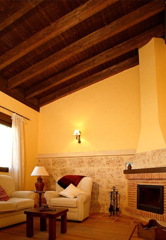 Techos Rusticos Interiores Perfect Perfect Great Diseo De Sala - Techos-rusticos-interiores