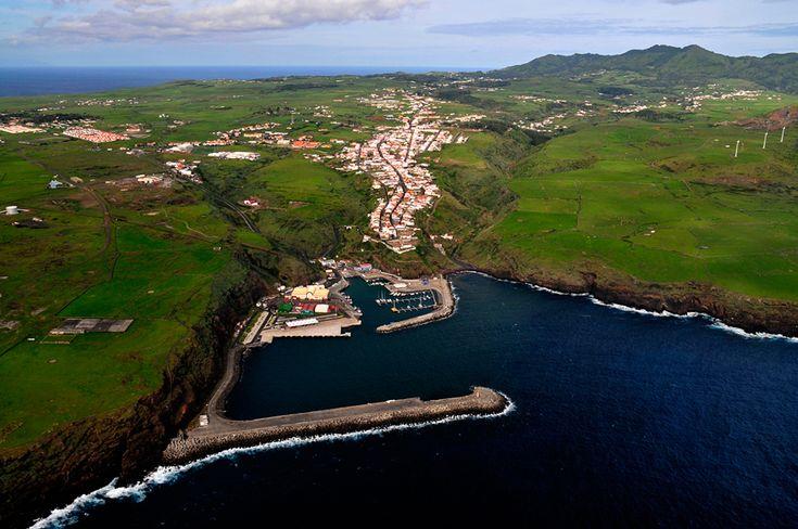Marina of Vila do Porto, Santa Maria Island