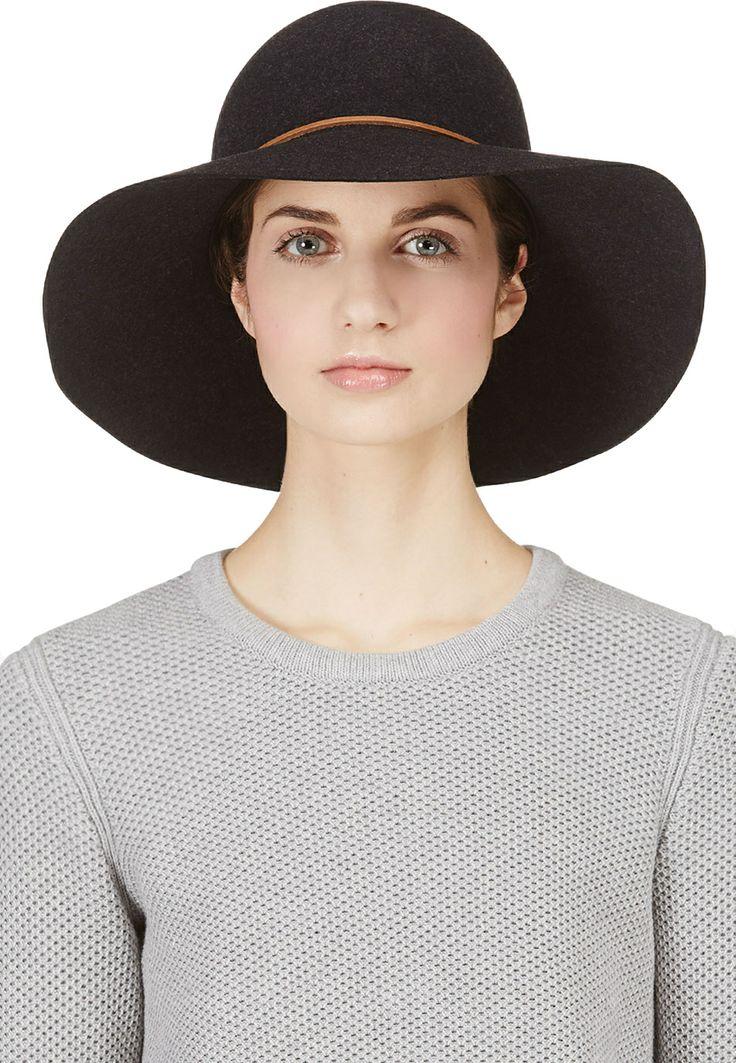 Rag & Bone - Black Wool Dunaway Hat | SSENSE