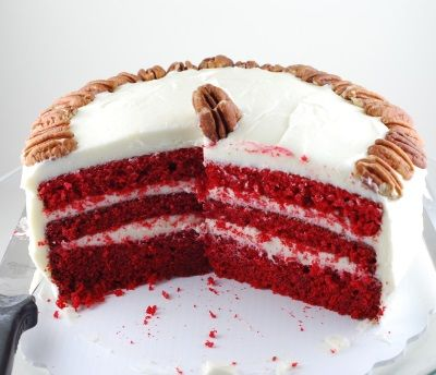 Bolo Veludo Vermelho - Red Velvet - Buddy Vallastro Cake Boss