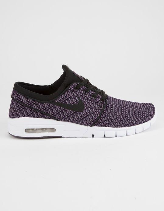 low priced 4fd38 b93a5 NIKE SB Stefan Janoski Max Black   Pro Purple Shoes