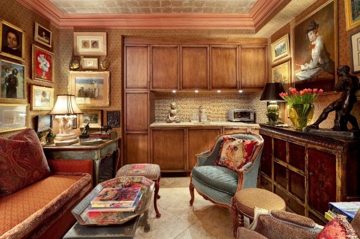 Vintage cozinha + sala