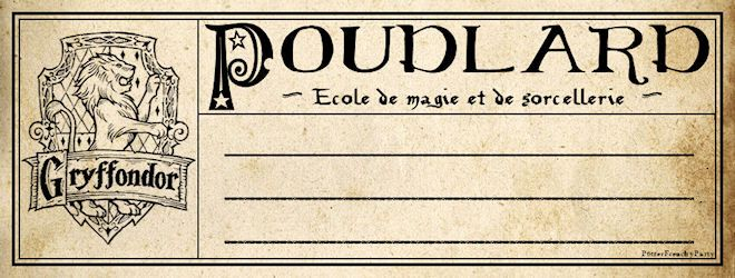 Travaux pratiques : fabriquer les cahiers d'école de Harry Potter à Poudlard