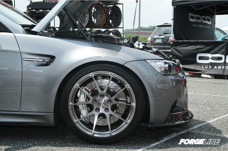 Our project M3 on one piece forged monoblock GA1R wheels finished in the Transparent Smoke powder coat. Learn more about the GA1R (including sizes and pricing) at: http://www.forgeline.com/products/one-piece-monoblock/ga1r.html  #Forgeline #forged #monoblock #GA1R #notjustanotherprettywheel #BMW #M3