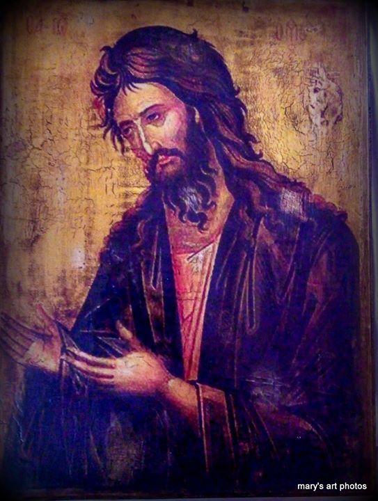 Εικόνα 30Χ40. Αγ Ιωαννης Πρόδρομος
